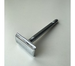 NEW RAPIRA PLATINUM LUX Safety Razor with metal handle, AGRESSIVE AS BEFORE