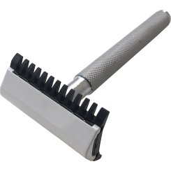 Saiver 2.0 Double DE safety razor with open comb