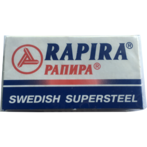 5 Blades Rapira Swedish Supersteel - one pack